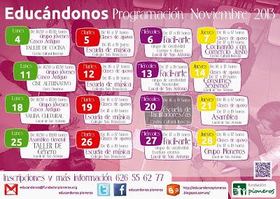 programación-mensual-educandonos-noviembre-2013
