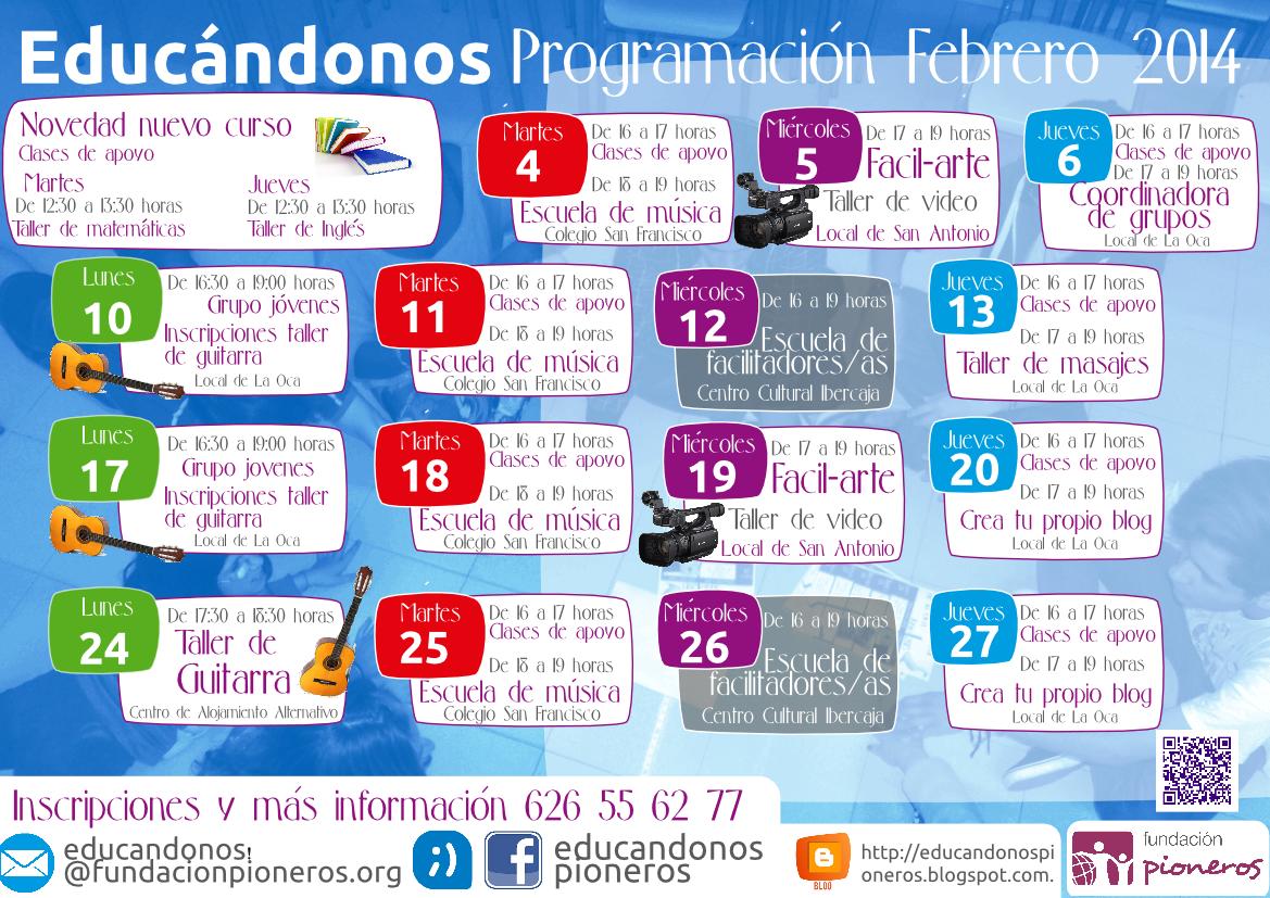 programación-mensual-educandonos-Febrero-2014