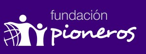 logo pioneros morado