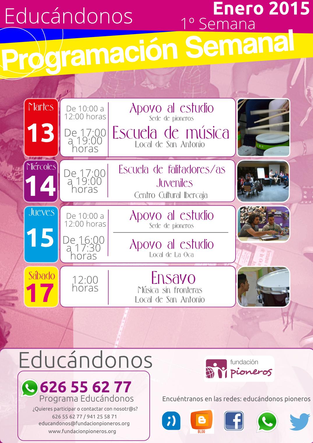 programaciónsemanaleducandonosEnero20151ºsemana-página001