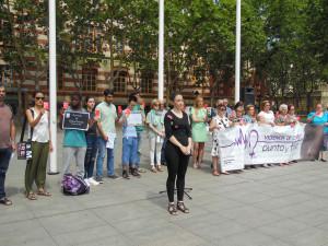 Manifestación en el ayuntamiento_junio 1