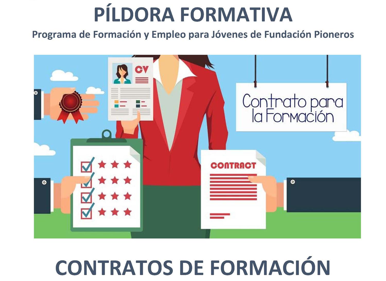 Píldora formativa contratos de formación