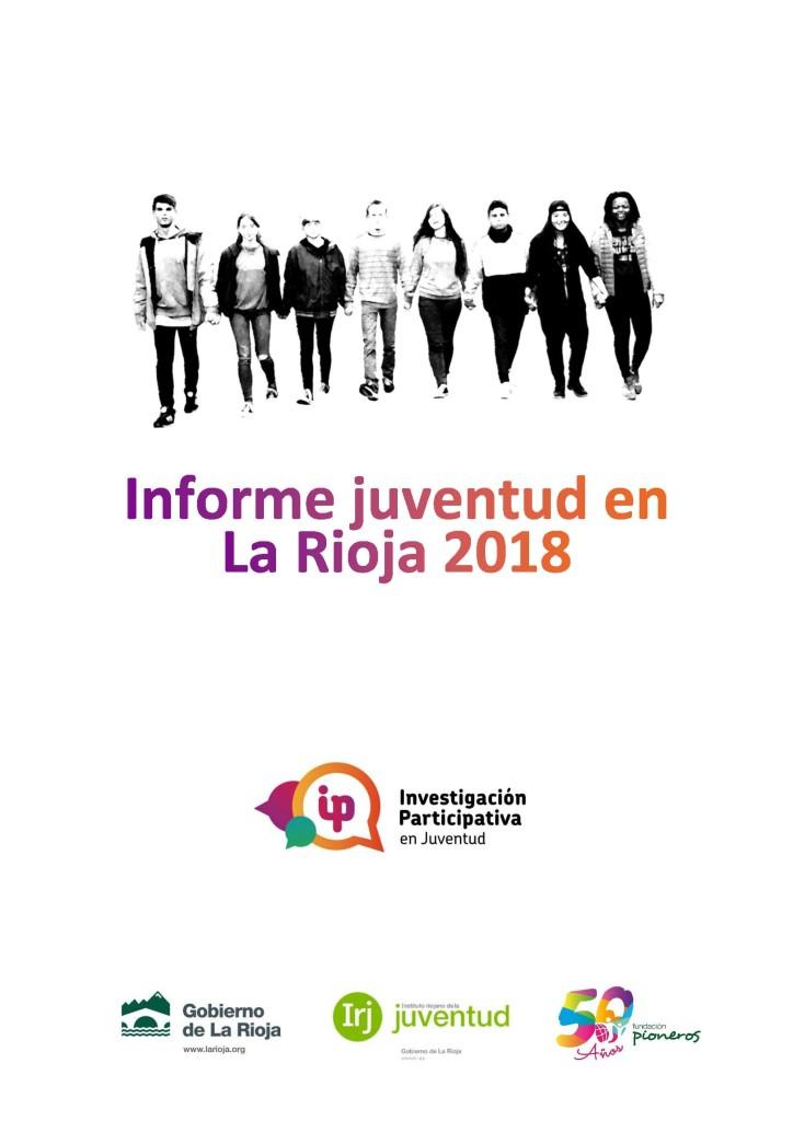 INFORME FINAL INVESTIGACIÓN PARTICIPATIVA EN JUVENTUD 9_10_2018 PORTADA