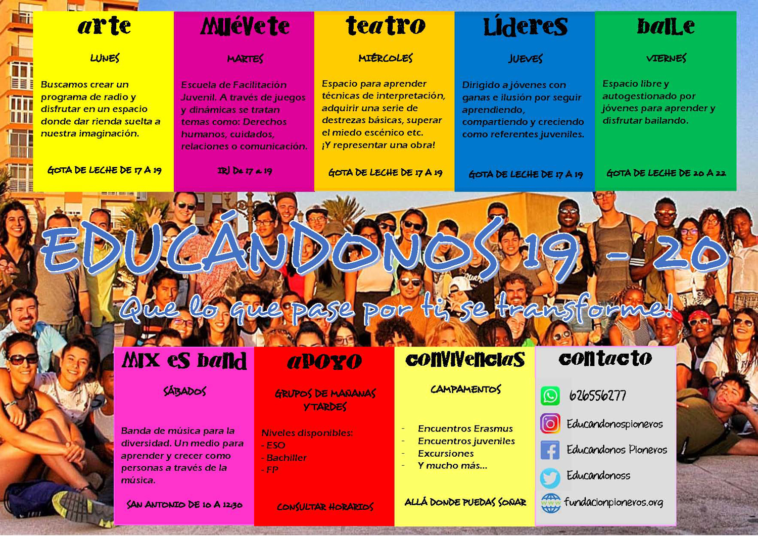 cartel educanodnos 2019-2020