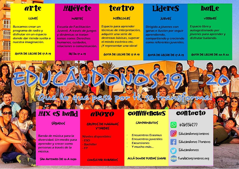 cartel educanodnos 2019-2020